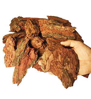 Кора лиственницы фр. 9-19 см