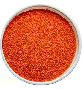 Оранжевый песок