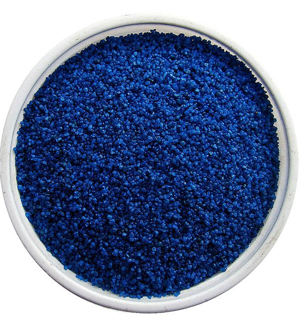 Синий песок