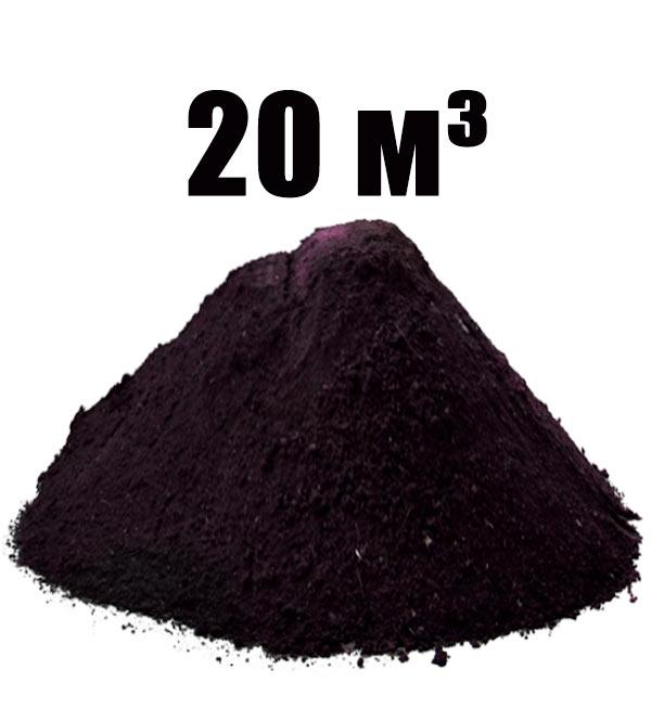 Чернозем машиной 20 м³