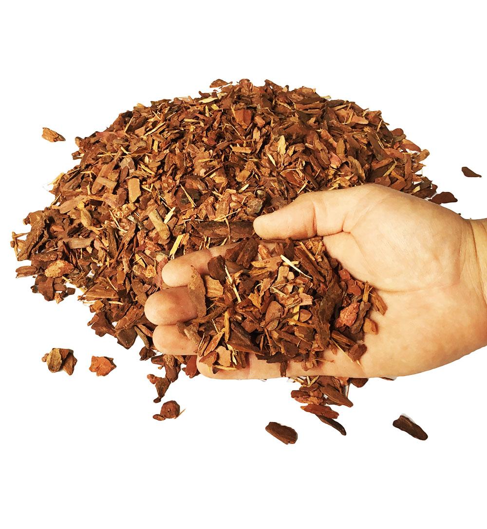 Кора лиственницы фр. 1-3 см