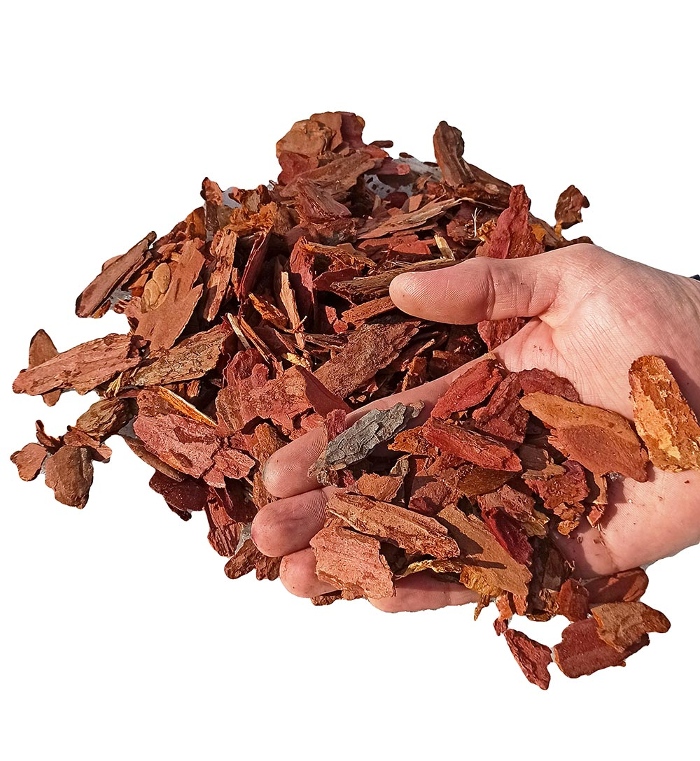 Кора лиственницы фр. 2-5 см